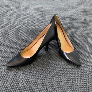 Classic Black Pointy Toe Pumps